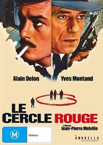 Cercle Rouge, Le (DVD) Thriller Jean Pierre Melville [All Regions] NEW/SEALED