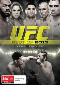 UFC - Best of 2013 - Year in Review DVD Brand New Region 4