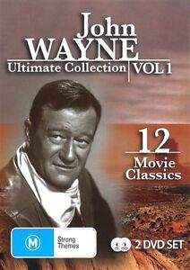 John Wayne - Ultimate Collection : Vol 1 - DVD Region ALL