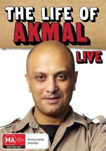 Akmal - Life Of Akmal Live (DVD, 2014) New  Region 4