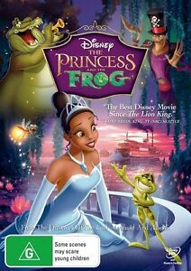 THE-PRINCESS-AND-THE-FROG-WALT-DISNEY-NEW-IN-PLASTIC-R4-DVD-AUSTRALIAN