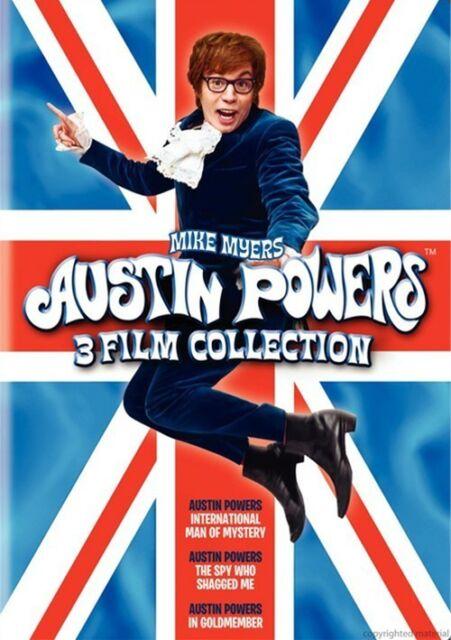 Austin Powers Trilogy 1 2 3 Movie Film Collection Box Set | New | Sealed | DVD