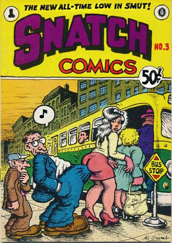 SNATCH COMICS #3. Robert Crumb, S. Clay Wilson & Others. UNDERGROUND COMIX. NM