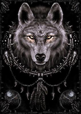 NEW * WOLF DREAMS * SPIRAL GOTHIC PYRAMID MAXI POSTER 62cm X 91cm  ...no36