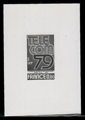Photo Essay  France Sc1657 Telecom 79  Fv 000