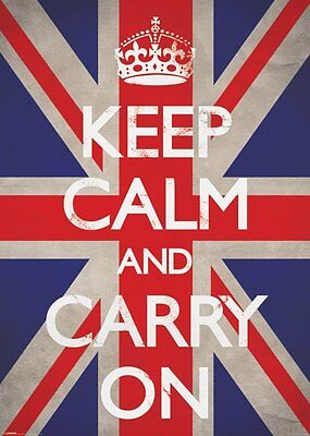 RIESEN Poster KEEP CALM - & Carry On  ca100x140cm NEU XL876