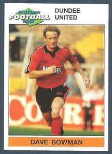 PANINI-SCOTTISH-FOOTBALL-92-039-DUNDEE-UNITED-DAVE-BOWMAN