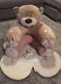 Baby sit me up teddy bear