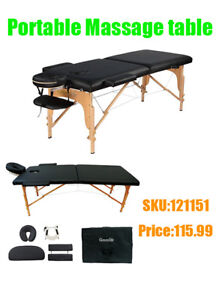 Portable Massage table/Facial/Tattoo/EyeLash bed,onlyfrom 129.99