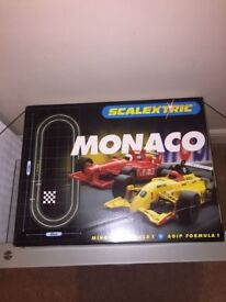 Scalextric - collection of four packs in very good condition