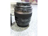 canon EF-S f2.8 Macro prime lens