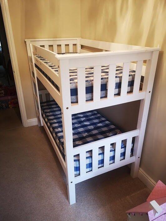 Children S Short Bunk Beds Including Mattresses In Frimley Surrey