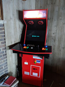 Ghostbusters 30th Anniversary Arcade with 900 Games w/ Fridge!