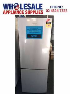 FACTORY SECOND WESTINGHOUSE 340L S/S BOTTOM MOUNT FRIDGE/FZR -WTY East Gosford Gosford Area Preview