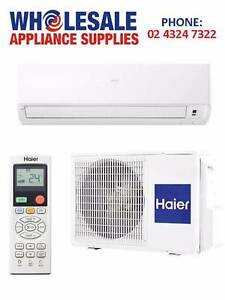 AIR CONDITIONER SPLIT SYSTEM HAIER 5 YEAR WARRANTY 2.6kW East Gosford Gosford Area Preview