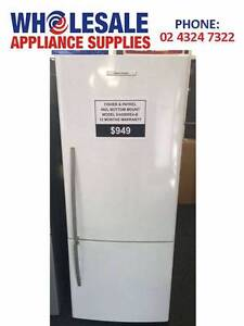 FACTORY SECOND FISHER & PAYKEL 442L BOTTOM MOUNT FRIDGE-WITH WTY East Gosford Gosford Area Preview