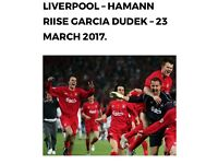 Liverpool Legends Night 23rd March Tickets