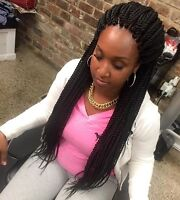 TRESSE AFRICAINE, TISSAGE lace front , crochet 819-968-9427