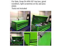 "Snap On KRA 53"" Top Box"
