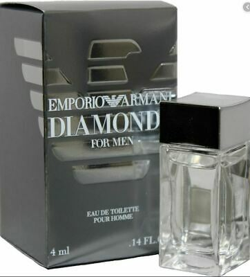MINI COLOGNE - EMPORIO ARMANI DIAMONDS 4 ml / .14 oz  NEW - SAMPLE SIZE SPLASH