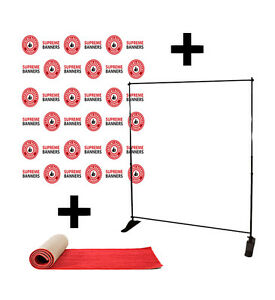 CUSTOM BANNERS/BACKDROP PACKAGE/STEP&REPEAT - LOW AS $159.00! Kingston Kingston Area image 3