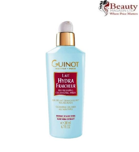 Guinot Make-Up Removal / Cleansing Lait Hydra Fraicheur Refreshing Gel 200ml