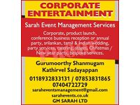 CORPORATE EVENT & PARTY SERVICES