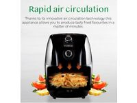 Tower Compact Air Fryer with 30 Minute Timer, 1000 W, 1.5 L - Black, 1.5 Litre