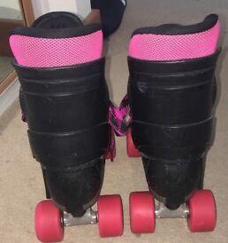 Street 86, pink roller skates