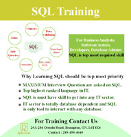SQL TRAINING  ADD NEW SKILL IN YOUR RESUME  HURRY UP LEARN SQL
