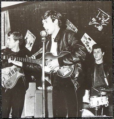 THE BEATLES POSTER PAGE . 1962 JOHN LENNON & PAUL MCCARTNEY & PETE BEST .