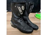 Sidi motorcycle boots mens size 10.5
