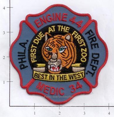 Pennsylvania - Philadelphia Engine 44 Medic 34 PA Fire Dept Patch