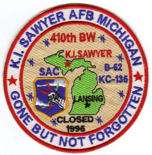 K.I. SAWYER AFB, MICHIGAN, SAC, 410TH BW, GBNF     Y