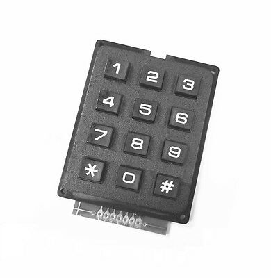 1pcs 4 X 3 Matrix Array 12 Keys 43 Switch Keypad Keyboard Module For Arduino