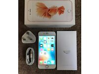IPhone 6s 16gb Rose gold boxed!
