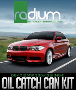 RADIUM ENGINEERING OIL CATCH CAN KIT:06-10 BMW 335I/135I (N54)
