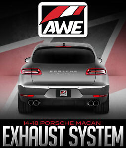 AWE TUNING TOURING EDITION EXHAUST SYSTEM: 14-18 PORSCHE MACAN