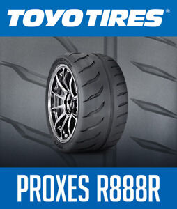 TOYO TIRES: PROXES R888R Now available!