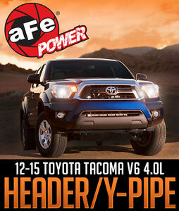 AFE POWER TWISTED STEEL HEADER/Y-PIPE - 2012-2015 TOYOTA TACOMA