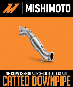 MISHIMOTO CATTED DOWNPIPE: 2016+ CHEVROLET CAMARO 2.0T