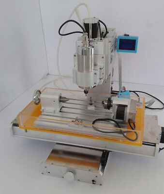 4 Axis Engraving Machine High-pricision Ball Screw Column Cnc 3040 Router Table
