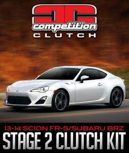 COMPETITION CLUTCH STAGE 2 CLUTCH KIT: SCION FR-S/SUBARU BRZ