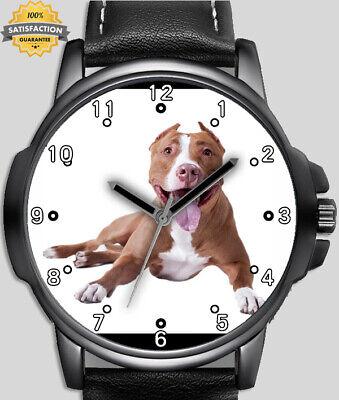 I love my fosse bull terrier chien beau 2 unique poignet montre rapide gb