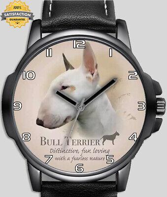 Chien collection bull terrier animal unique poignet montre rapide gb