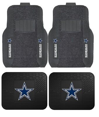 Dallas Cowboys Deluxe Auto Floor Mats - Car, Truck, SUV