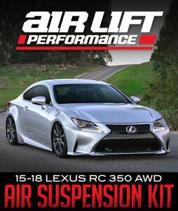 AIR LIFT PERFORMANCE PERFORMANCE SERIES KITS: Lexus IS, GS, RC