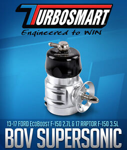 TURBOSMART BLOW OFF VALVE SUPERSONIC, F150 Ecoboost