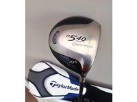 TaylorMade R540 driver, 10.5 degree Stiff flex graphite £30 or best offer