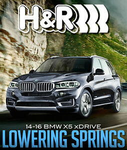 H&R Sport Lowering Springs for 2014-16 BMW X5 X-Drive